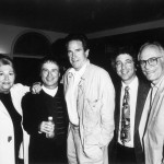 Warren Beatty, Marilyn Bergman, Gary LeMel, Alan Bergman
