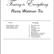 Music Charts – Drums – Timing Is Everything