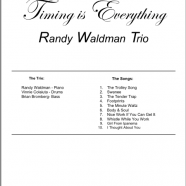 Music Charts – Piano – Timing Is Everything